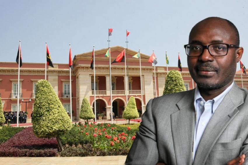 Rafael Marques impedido de entrar no palácio, por não constar da lista de convidados