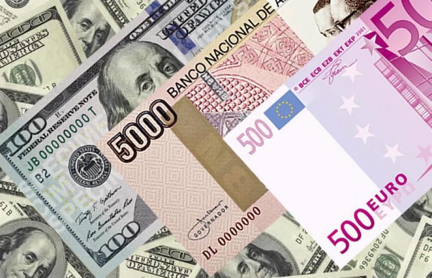 Kwanza angolano valoriza-se face ao euro pela primeira vez este ano