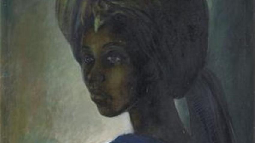 """Pintura apelidada de """"Mona Lisa Africana"""" vendida por mais de 1.3 milhões de euros"""