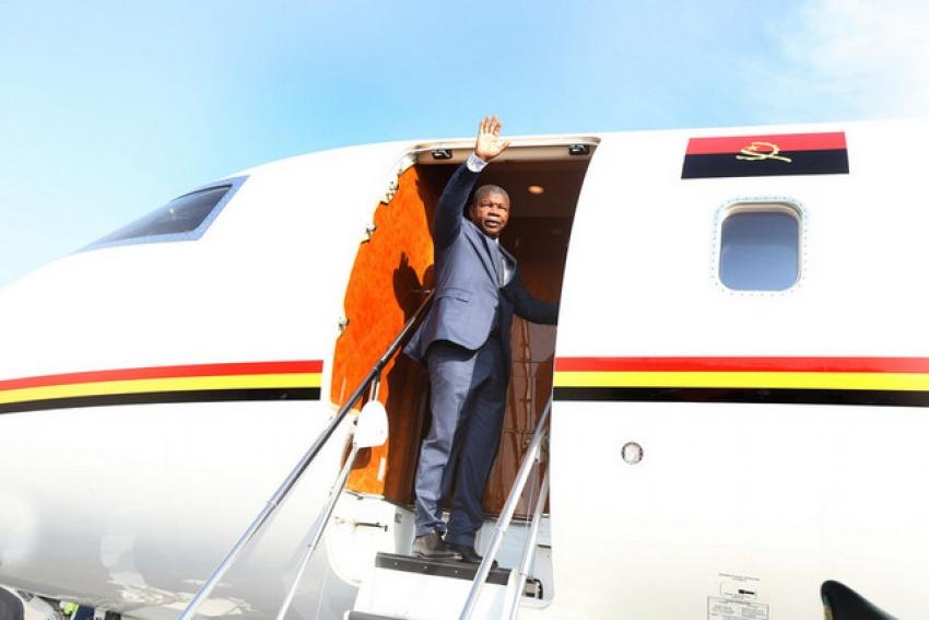 Presidente de Angola partiu hoje para Emirados Árabes Unidos em visita oficial