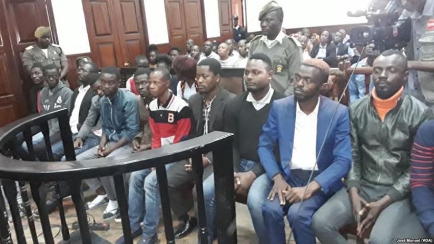 Tribunal absolve 13 jovens promotores do Movimento Independentista de Cabinda