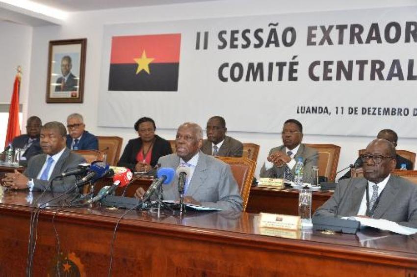 MPLA rejeita clivagens e reafirma coesão no partido no poder em Angola
