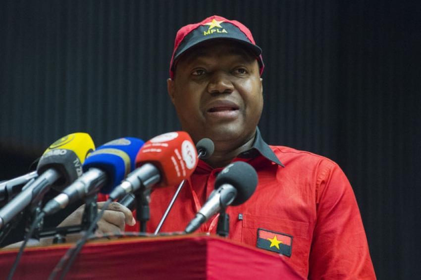 Sérgio Luther Rescova Joaquim eleito primeiro secretário provincial do MPLA de Luanda