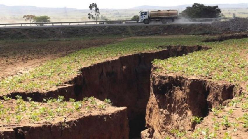 Rachadura gigante no Quênia mostra que África se dividirá em duas