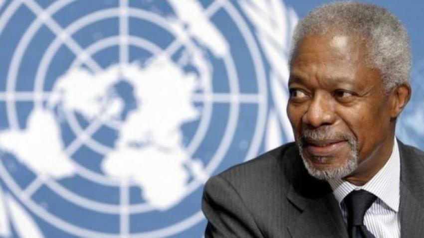 Morre Kofi Annan, ex-secretário-geral da ONU e vencedor do Nobel da Paz