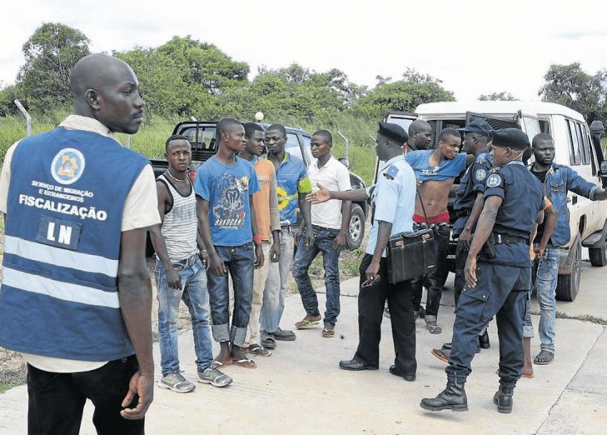 Polícia nacional detém em Luanda em quase um mês 176 estrangeiros ilegais