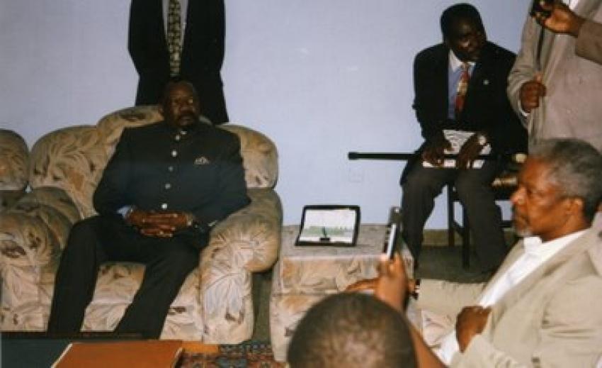 UNITA agradece papel de Kofi Annan na procura de diálogo entre angolanos