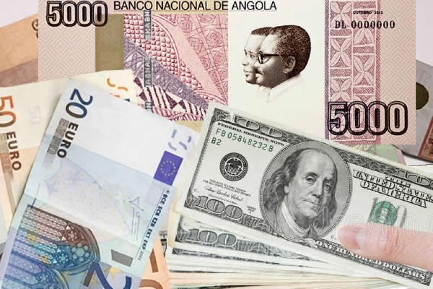 Banco Nacional de Angola elimina limite de variação do kwanza nos leilões e permite desvalorização