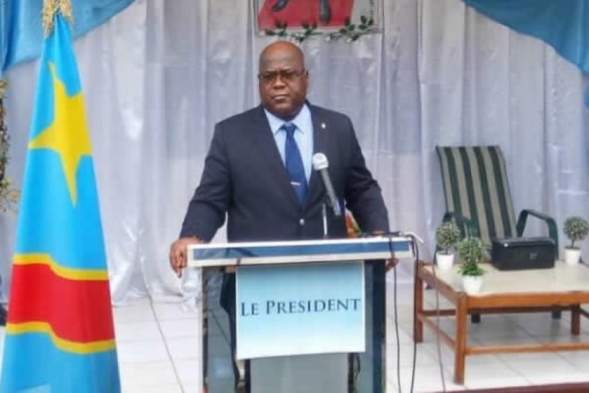 Felix Tshisekedi Tshilombo, eleito presidente da República Democrática do Congo