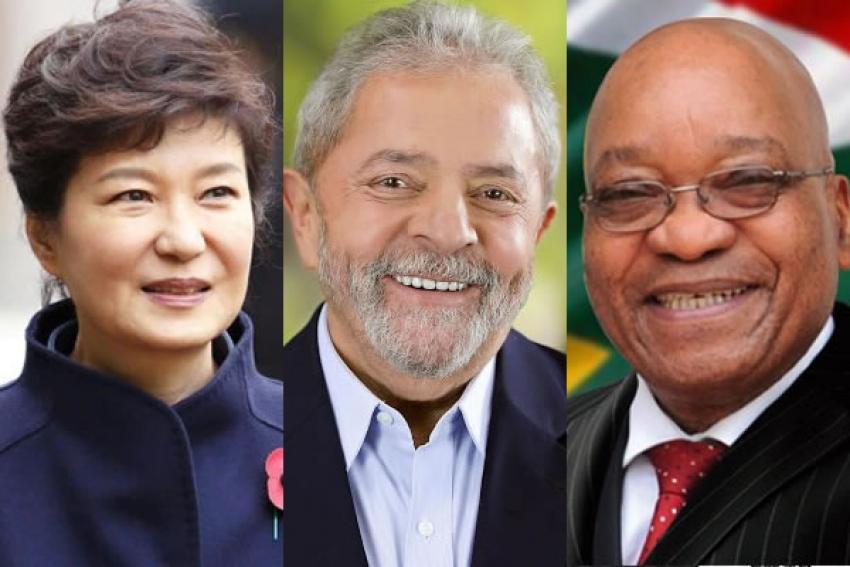 Lula no Brasil, Park na Coreia do Sul e Zuma na África do Sul: o dia que marca a derrocada de 3 ex-líderes mundiais