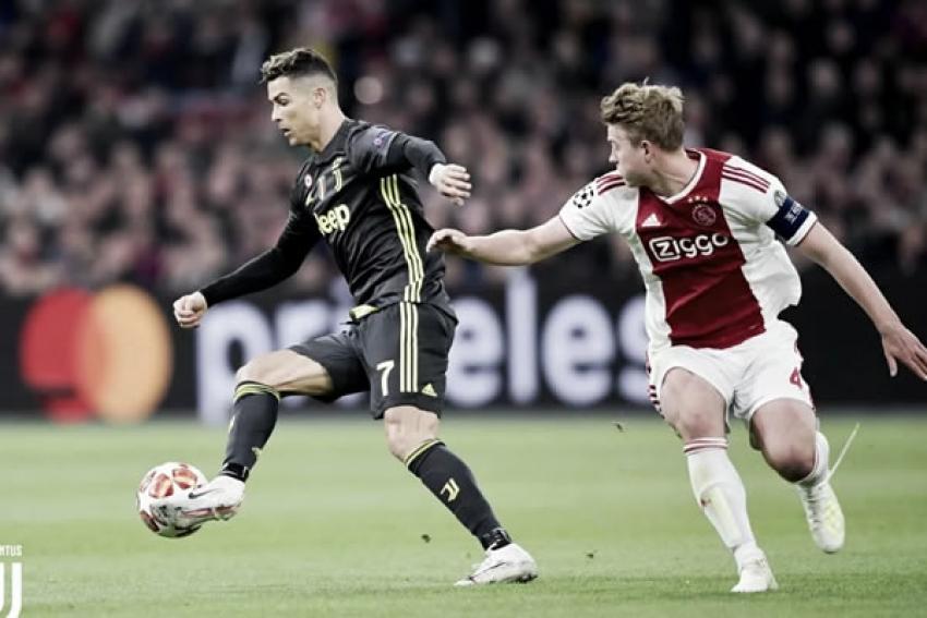 Ajax elimina Juventus e garante lugar nas meias-finais da Liga dos Campeões