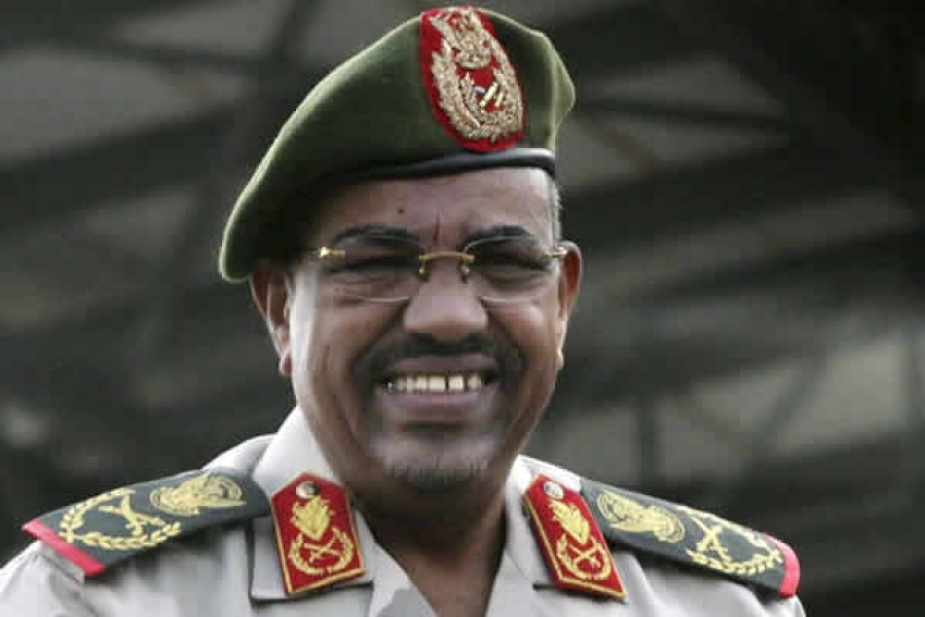 Omar al-Bashir, ditador do Sudão afastado do poder pelos militares