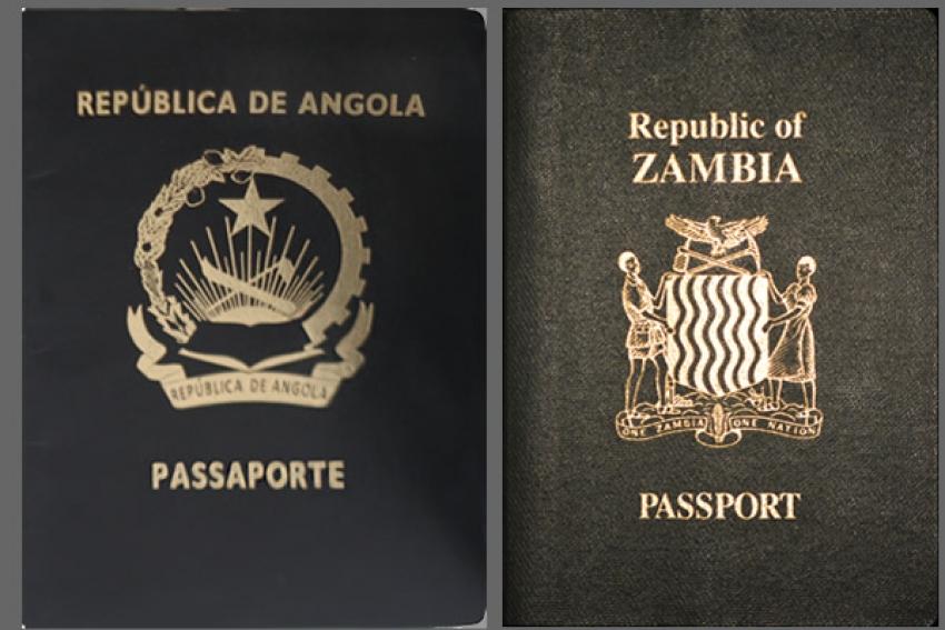Angola e Zâmbia assinam acordo de supressão de vistos