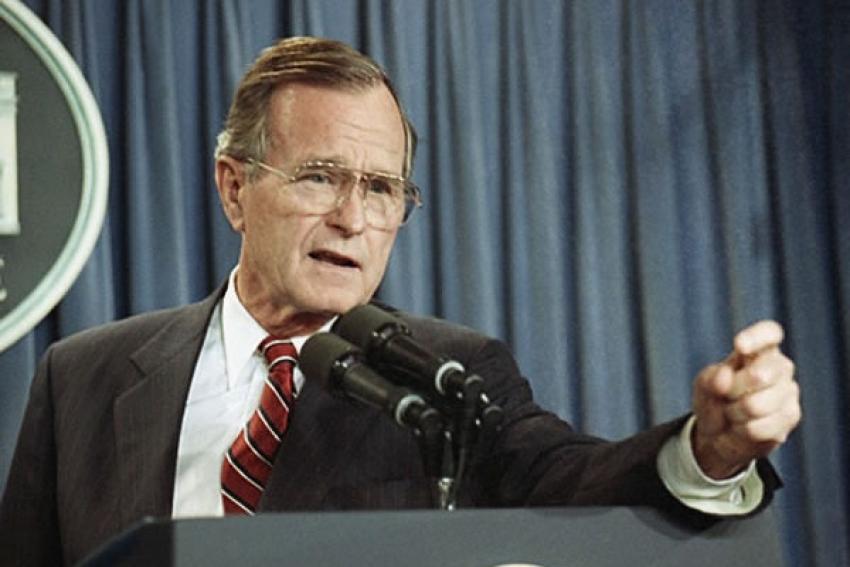 Antigo Presidente dos Estados Unidos George H.W. Bush morreu aos 94