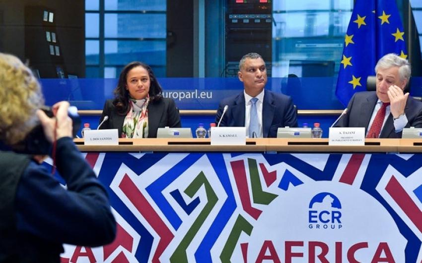 """Isabel dos Santos no Parlamento Europeu: """"África tem de se tornar digital"""""""