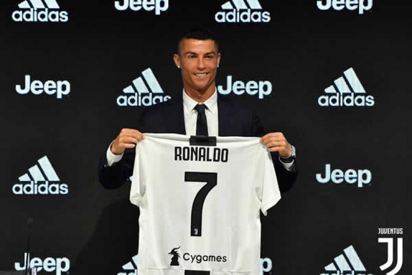 """Cristiano Ronaldo se """"apresenta"""" à Juve: """"Muitos estão acabados com 33 anos. Eu não"""""""