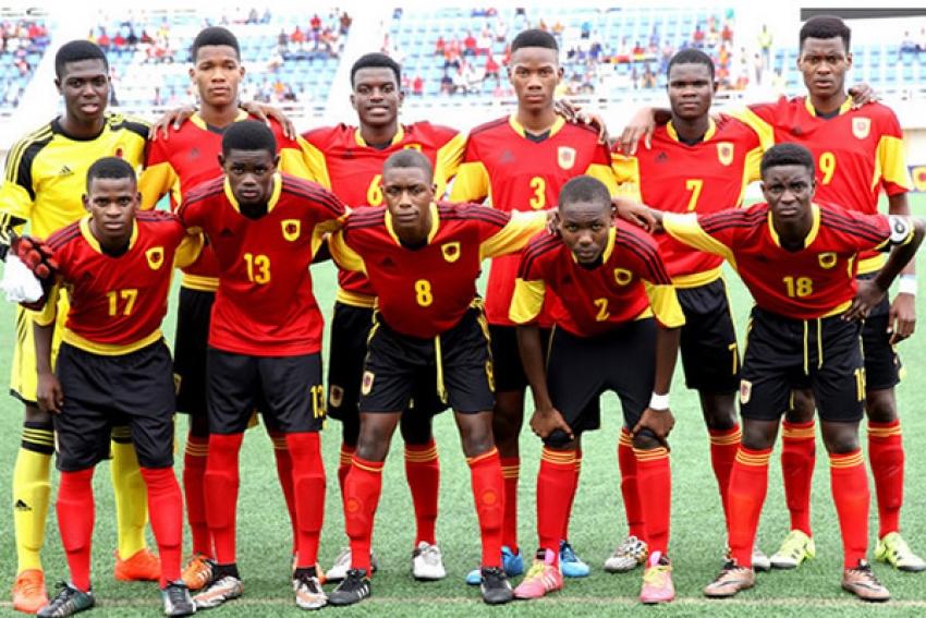 Seleção angolana de sub17 conquista inédito bronze na Taça de África das Nações