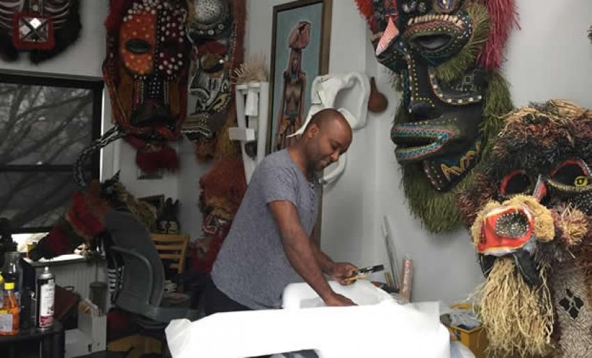 Como um angolano virou estrela em Nova Iorque