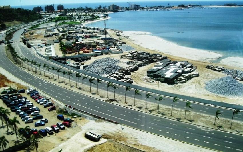 Segunda fase de construção da Marginal de Luanda custa mais de 142 milhões de dólares