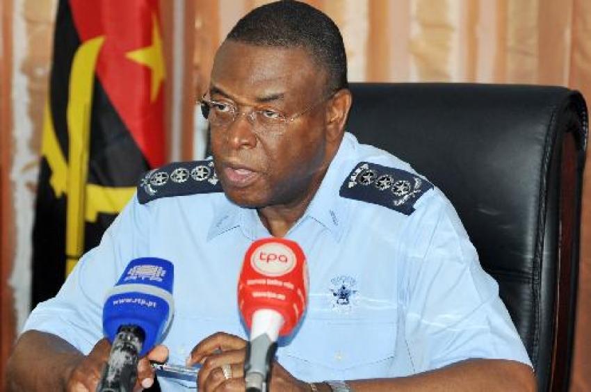"""Polícia angolana preocupada com """"tendência crescente da criminalidade"""""""