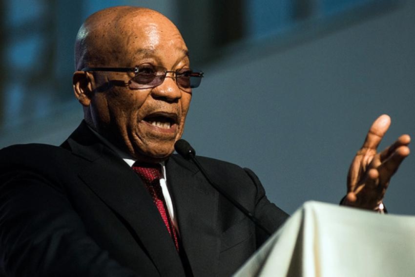 Presidente sul-africano Jacob Zuma anuncia sua demissão