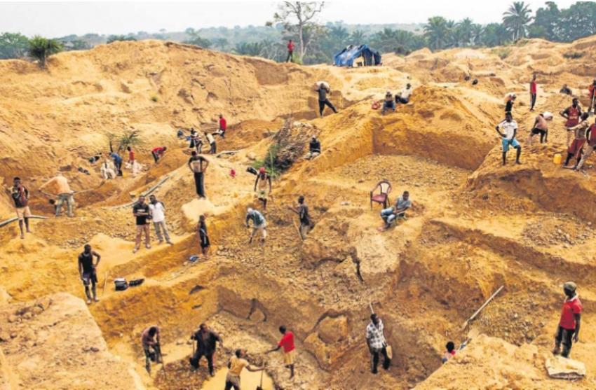 """Polícias da """"Operação Transparência"""" envolvidos na exploração ilegal de diamantes"""