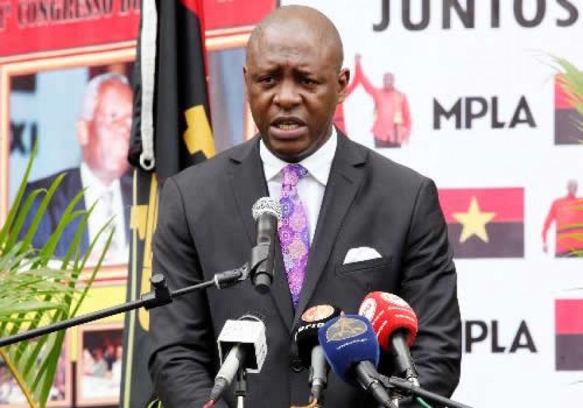 MPLA alerta a tramas para perturbar a transição pacífica em Angola