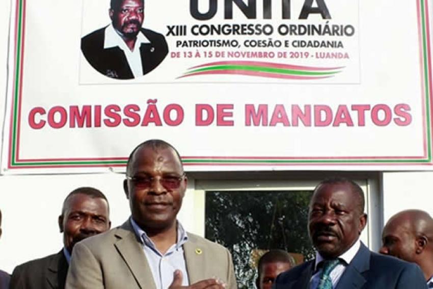 UNITA tem mais quatro candidatos a liderança