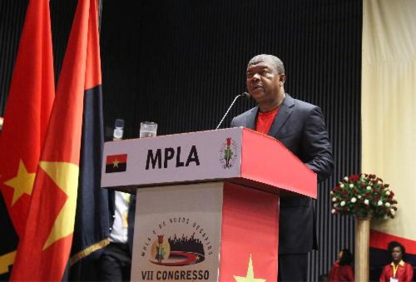 Discurso do líder do MPLA no VII Congresso Extraordinário do partido