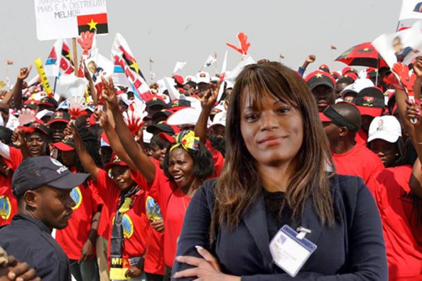 Tchizé dos Santos poderá participar no Congresso Extraordinário do MPLA